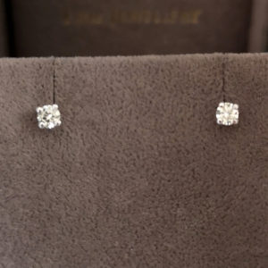 0.20 Carat Diamond Stud Earrings