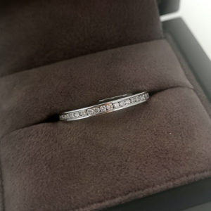 0.50 Carat Full Channel Set Diamond Ring