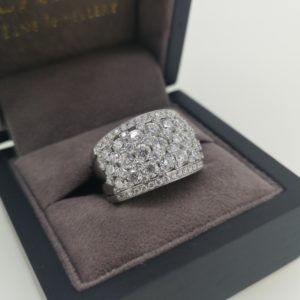 3.60 Carat Diamond Cocktail Ring