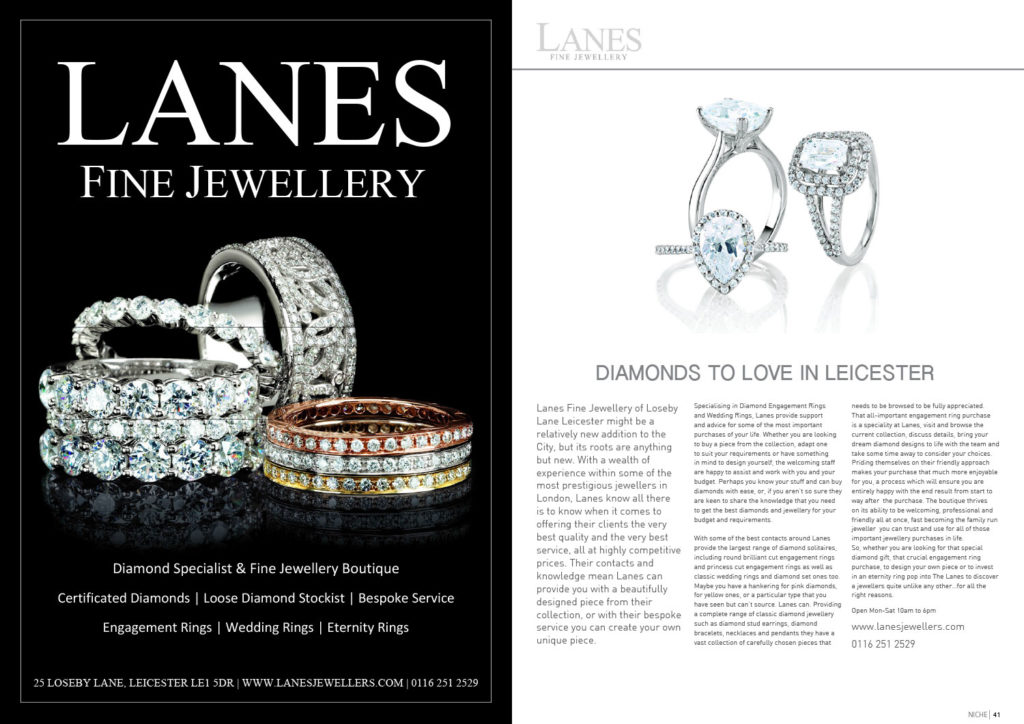 Diamonds to Love in Leicester