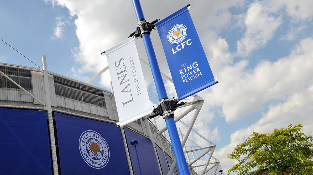 Official Leicester City Football Club jewellery partner